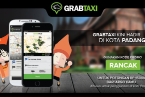 """Aplikasi Pemesanan Taksi """"GrabTaxi"""" Hadir di Kota Padang"""