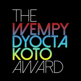 The Wempy Dyocta Koto Award Logo