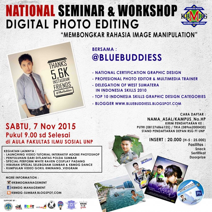 National Seminar & Workshop Digital Photo Editing